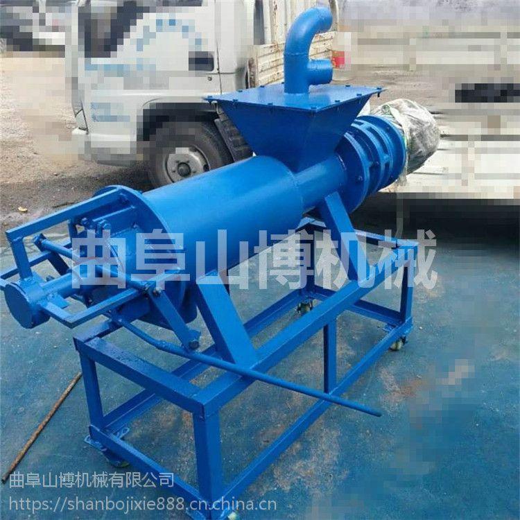 大型污泥处理机 300加强型固液分离机 淀粉渣液分离机