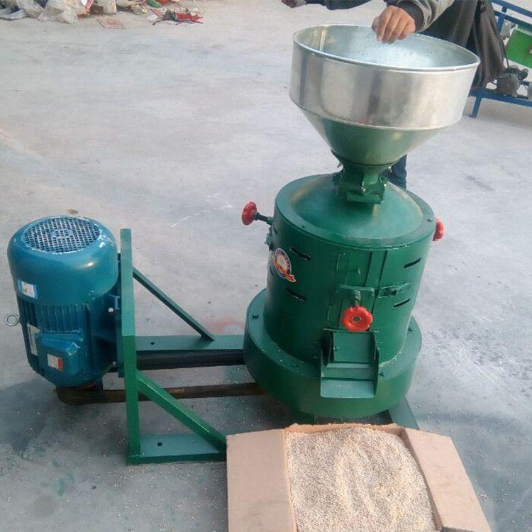 砂辊式碾米机 稻谷脱皮碾米机  五谷杂粮去皮磨米机