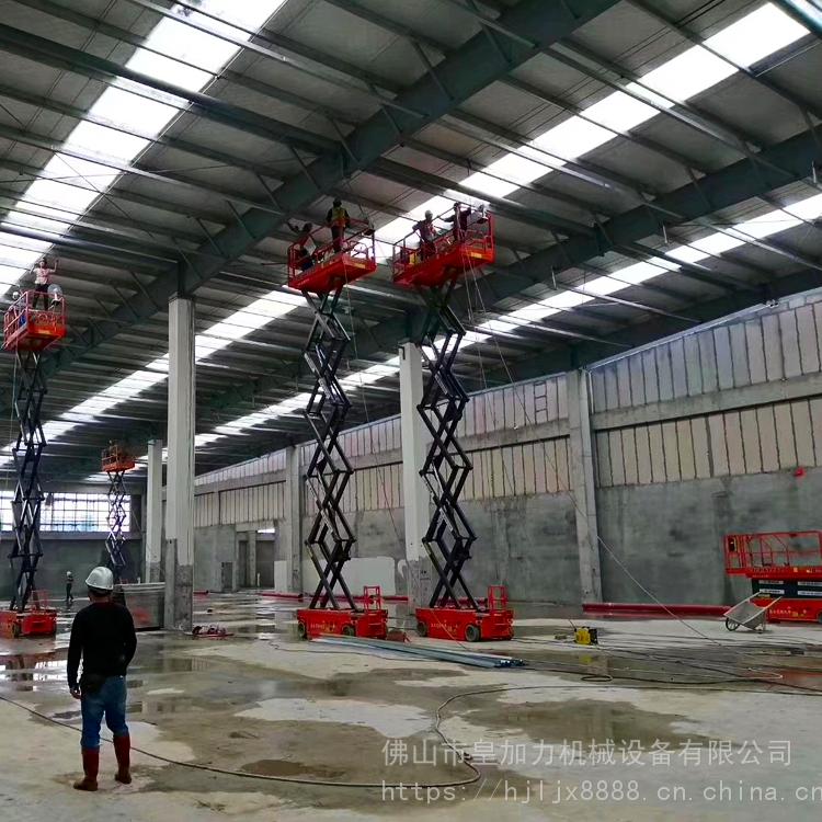 出租机电安装用升降平台 厂房建设10米高度升降机租赁