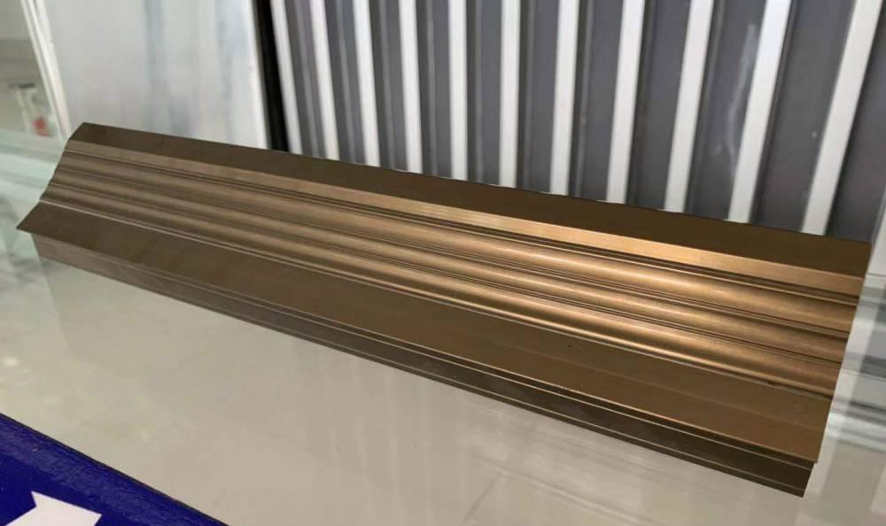 铝合金型材上色的方法以及需要注意的问题