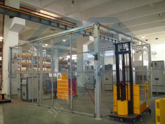 铝合金围栏的表面处理和用途