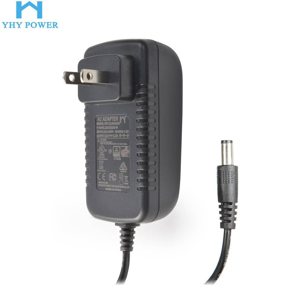 YHY-24001000 24v开关电源适配器1000ma 24v1a电源适配器