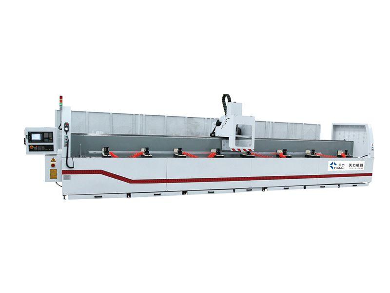 济南断桥铝合金门窗设备1260铝型材四轴数控加工中心 全套设备+免费方案