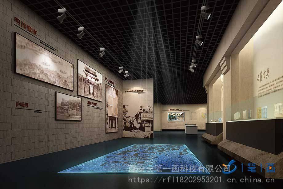 商务服务 展览服务 展台设计搭建 创新创意党史博物馆教育馆设计,高科图片