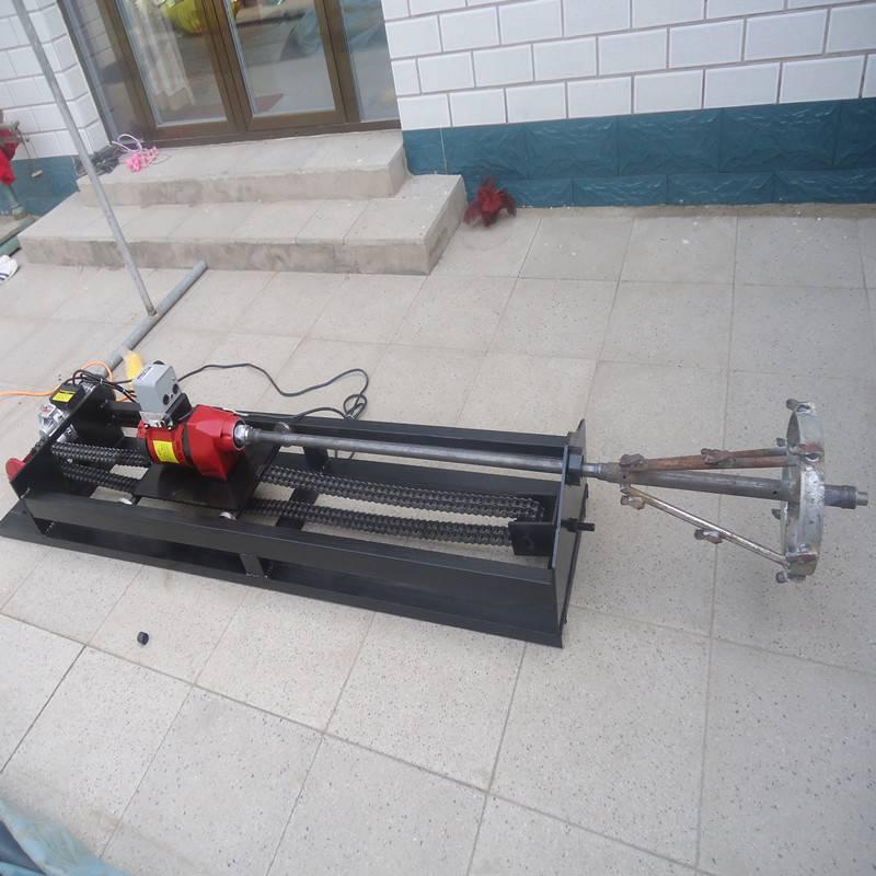 厂家直销小型顶管机 新型水钻过路钻孔机 自动行走过路打孔机