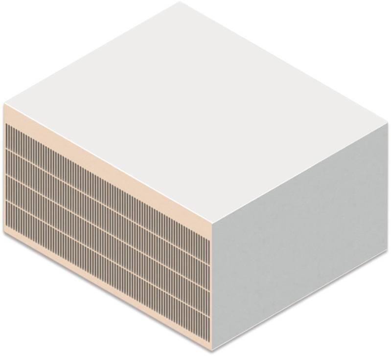 组合铝型材散热器的现场焊接制作