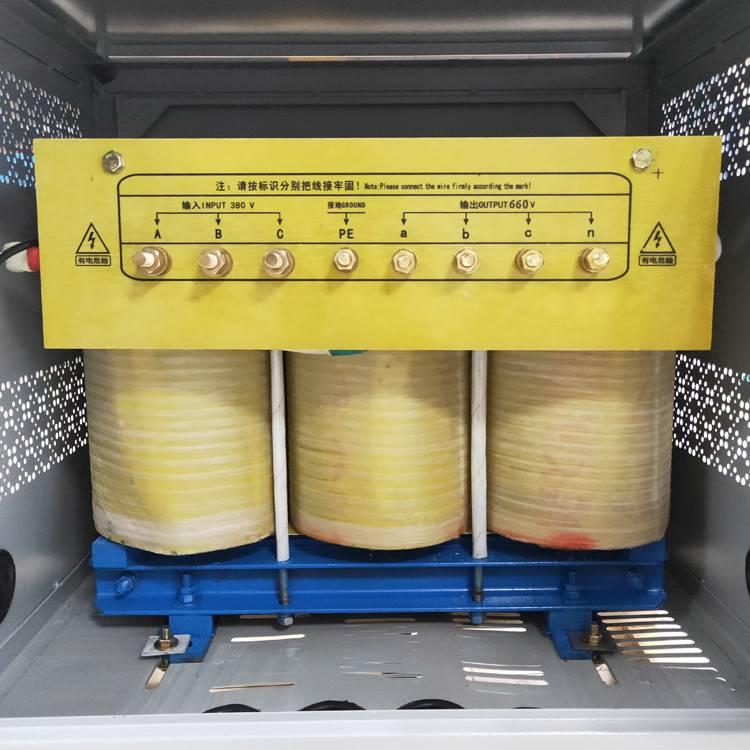 矿山工地隧道专用三相升压变压器