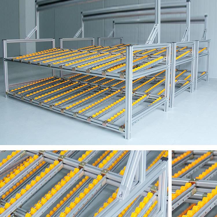 铝型材框架 物料车 物料架