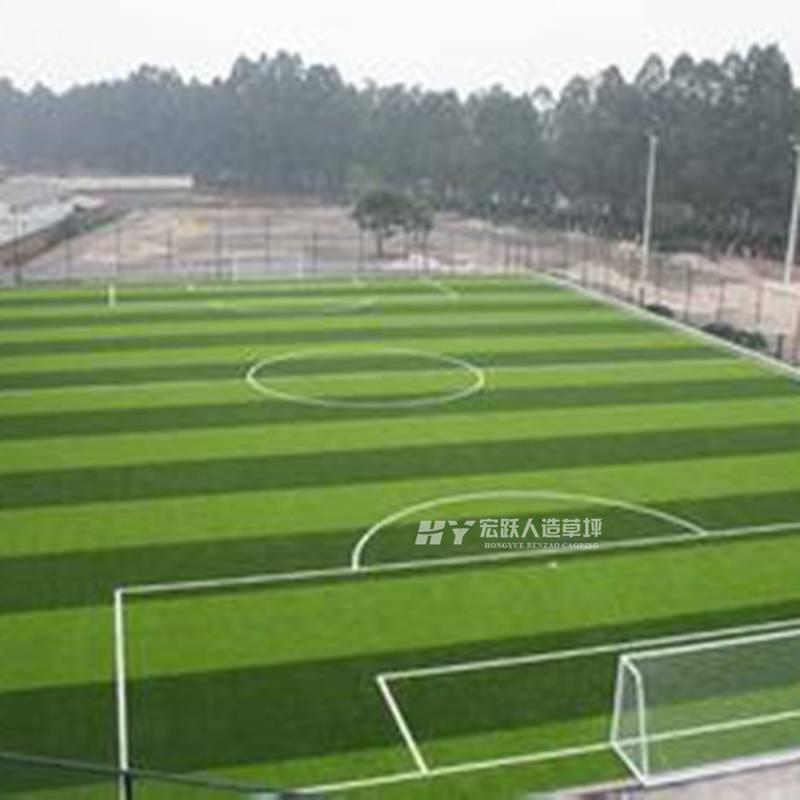 哈尔滨足球场人造草坪足球草坪使用寿命室内外5.0cm高