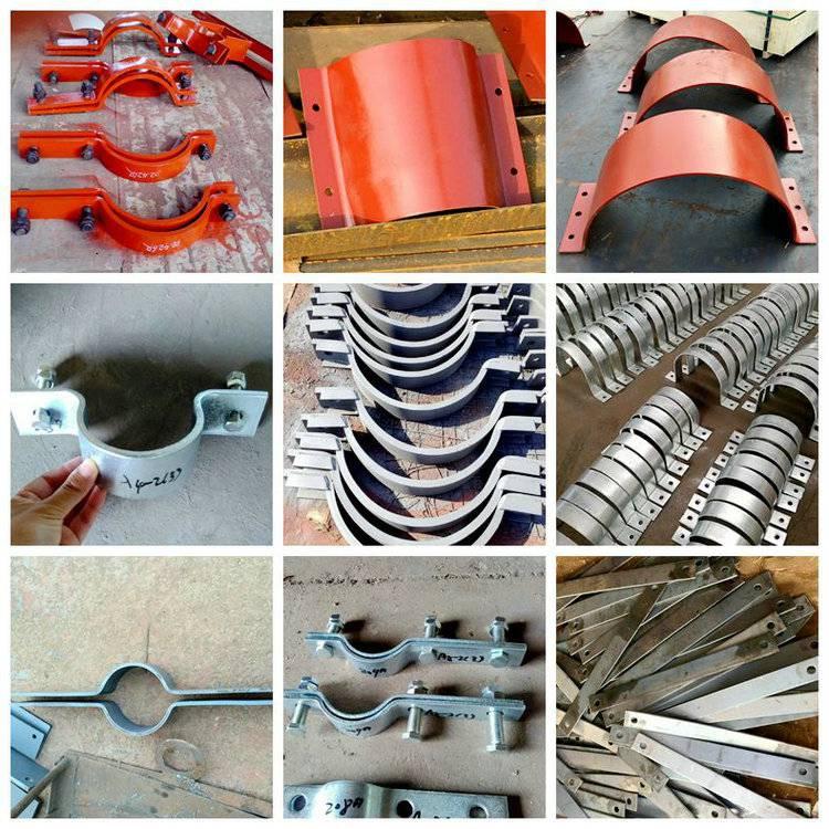 基准型双螺栓管夹实力商家生产双孔短管夹加工
