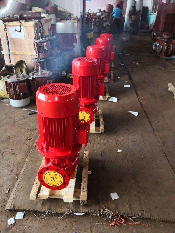 消防泵供应XBD8.5/30G-L37KW不锈钢3CF