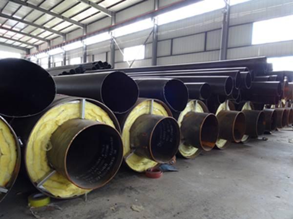 盐山钢套钢岩棉蒸汽保温管现货批发