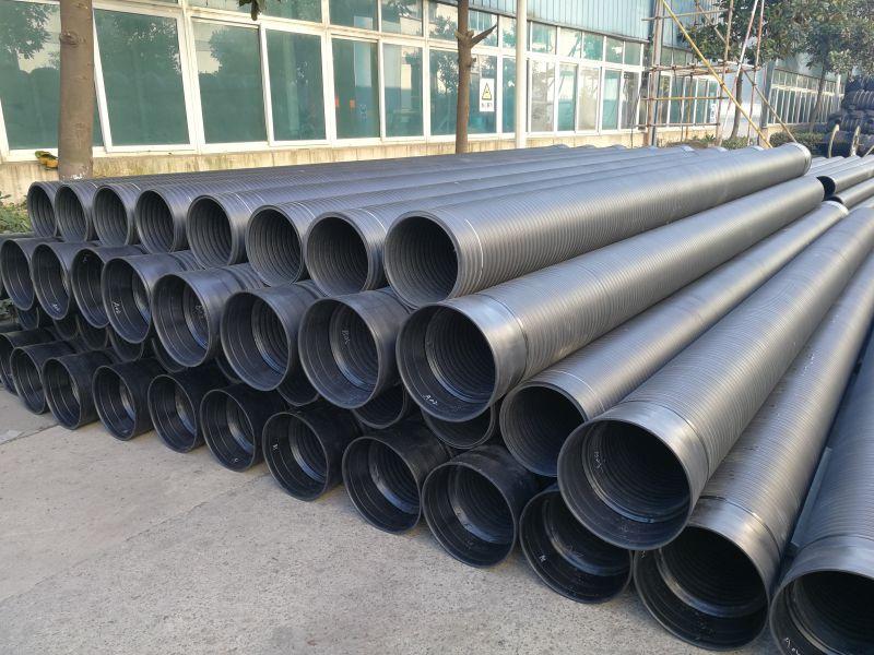供应江苏通全球管业塑料检查井HDPE双壁缠绕管隔油池隔油井