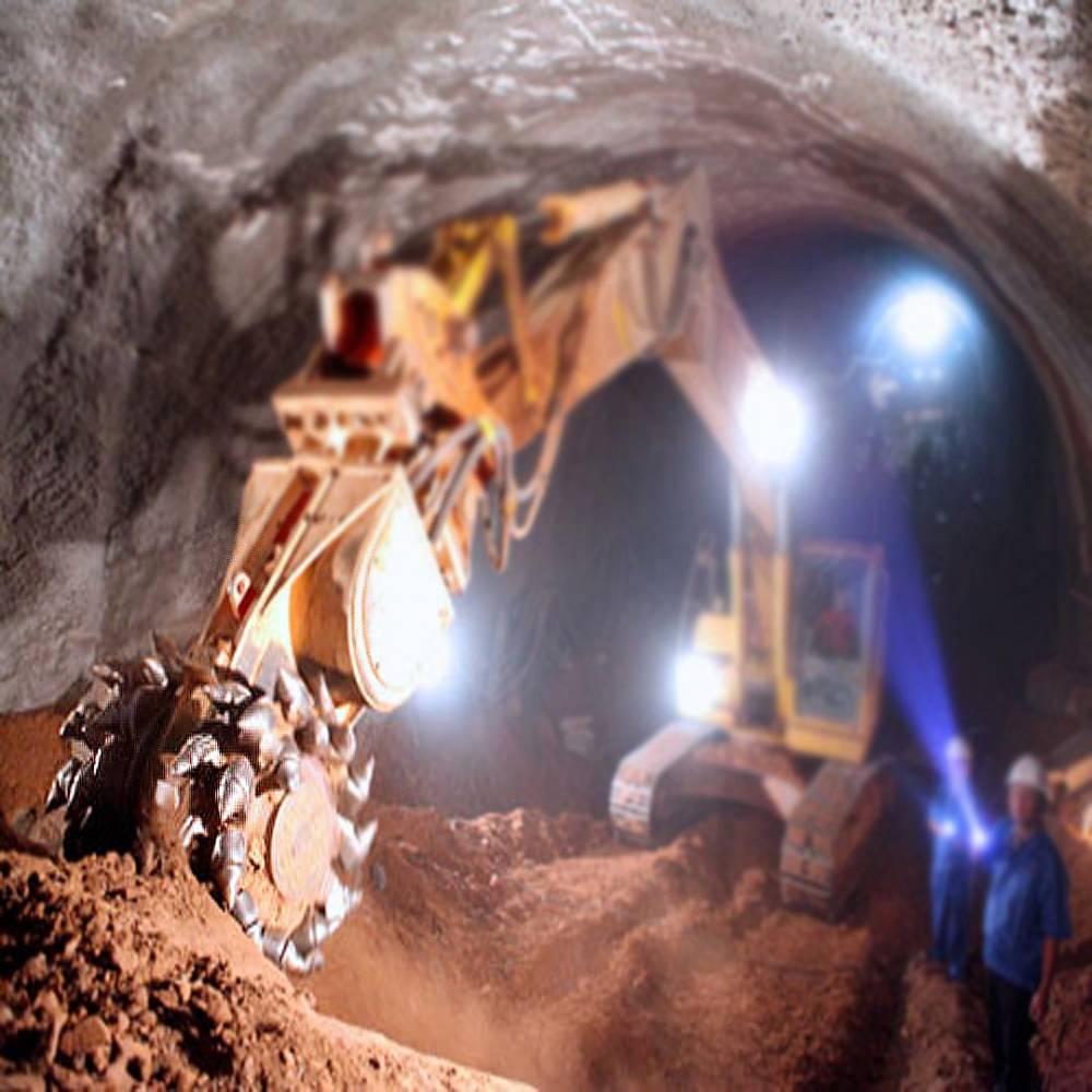 挖掘機銑挖機 土石方挖溝 隧道壁鑿毛