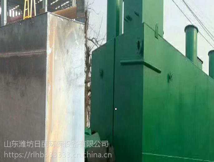湖北省地埋式一体化生活污水处理设备日丽-1