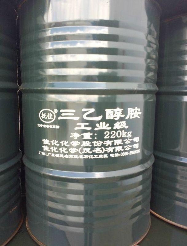 供应高品质三乙醇胺 早强剂 直销上海佳化三乙醇胺国标含量85%