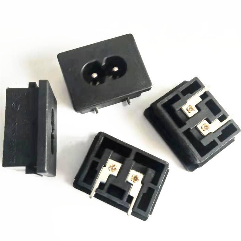 卡式C8電源插座 ST-A03-005KC-T11八字電源插座
