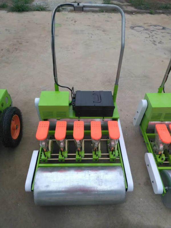 小粒单行手推播种机价格 汽油动力精播机