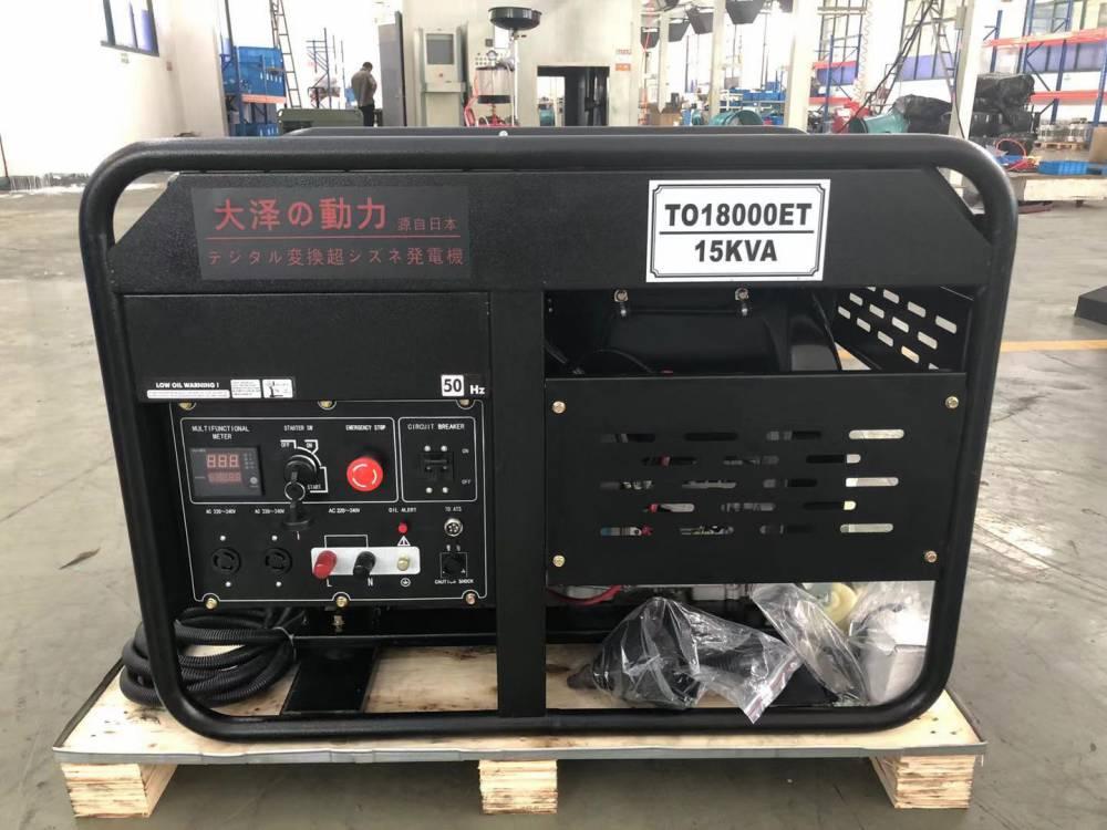 15kw柴油发电机生产线