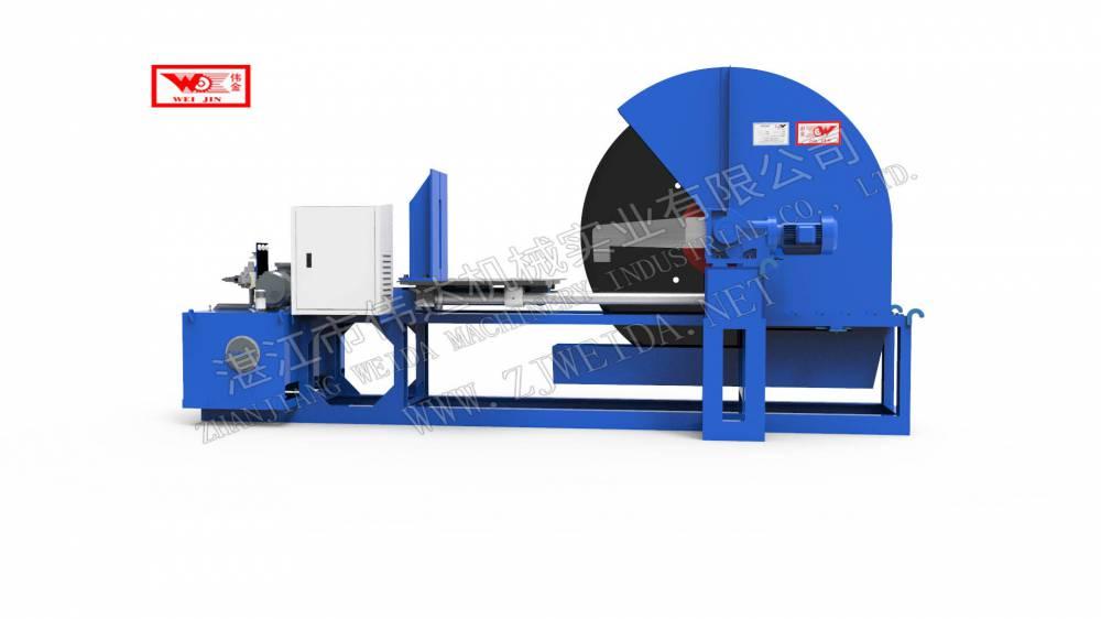 大型天然橡膠再生膠切割機可切成塊狀、條狀、片狀