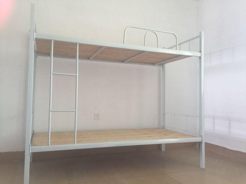 双层床 上下铺双人床 铁架床 单人床 学生宿舍床 公寓床