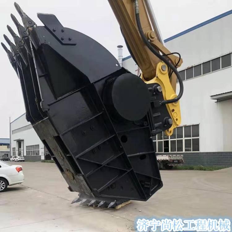 挖掘機破碎斗 顎式破碎斗 裝載機式碎石斗