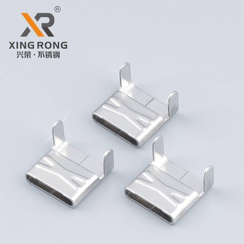 兴荣XR-LX型不锈钢扎扣 绑扎钢扣