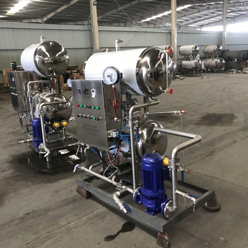 强大机械出售整鹅产品高温高压杀菌锅