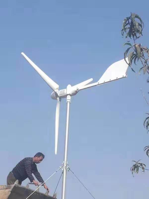 高山平原用风力发电机