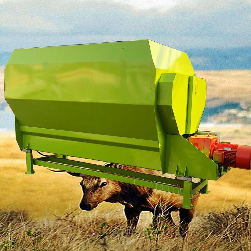 TMR饲草搅拌机 干湿混合拌料机 秸秆粉碎搅拌机价格