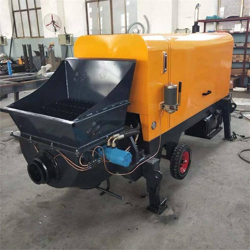 高壓混凝土輸送泵 大型大骨料混凝土輸送泵
