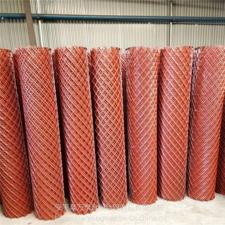 菱形防滑网 平台菱形拉伸网 重型钢板拉伸网详细介绍