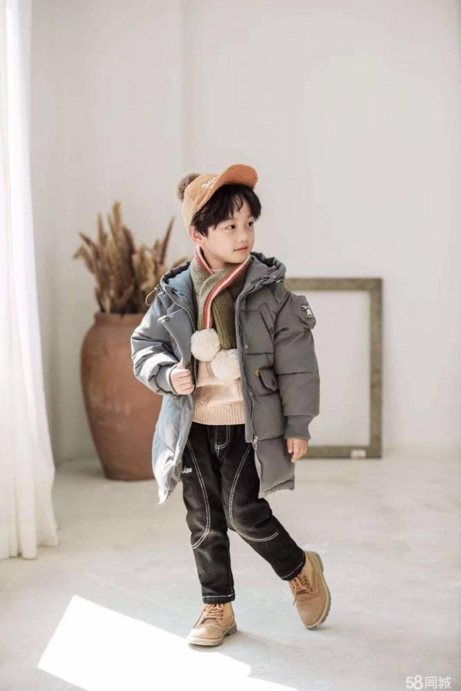 淘气有约 广州品牌 秋冬装 时尚韩版童装 品牌折扣尾货批发