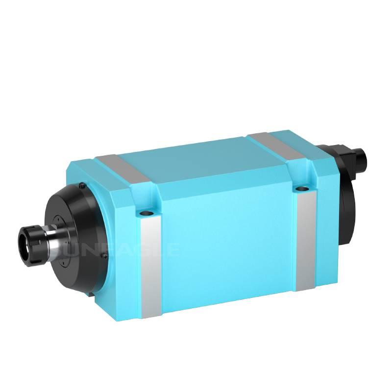 钻孔钻削动力头精密镗铣主轴头/动力头DN35牙攻磨头加工 高效精品
