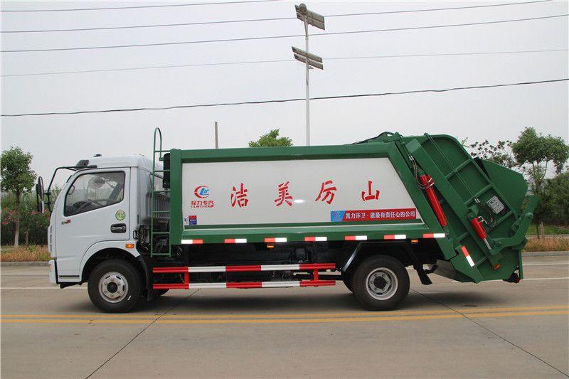 垃圾5吨压缩车价格 国六垃圾车