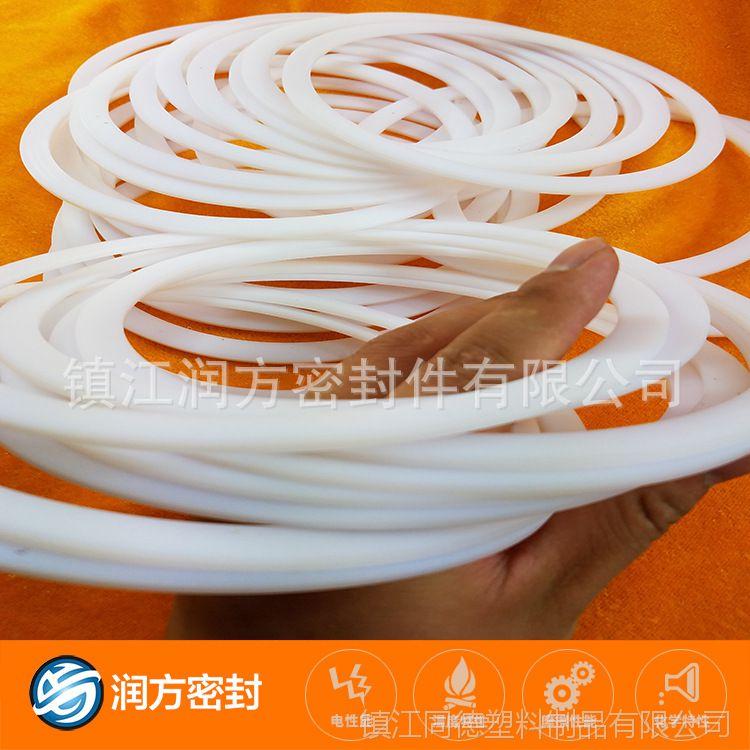 聚四氟乙烯垫片:内径100mm,外径110mm,厚度4mm,数量2400个