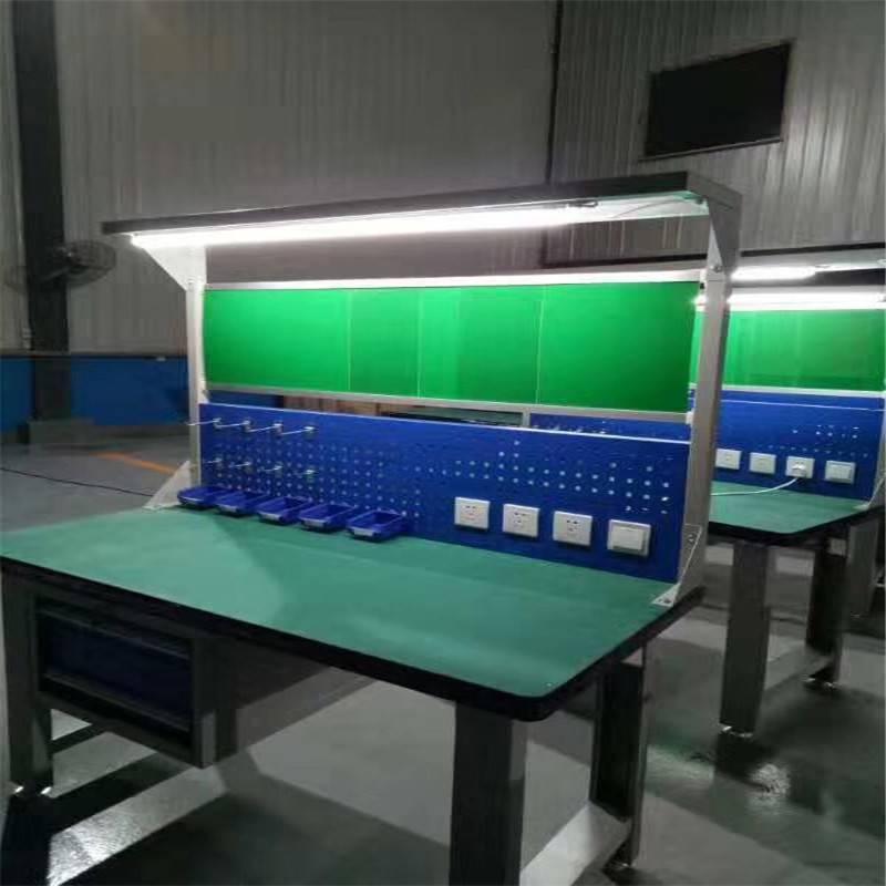 防静电工作台 电子厂流水线重型工作桌试验台