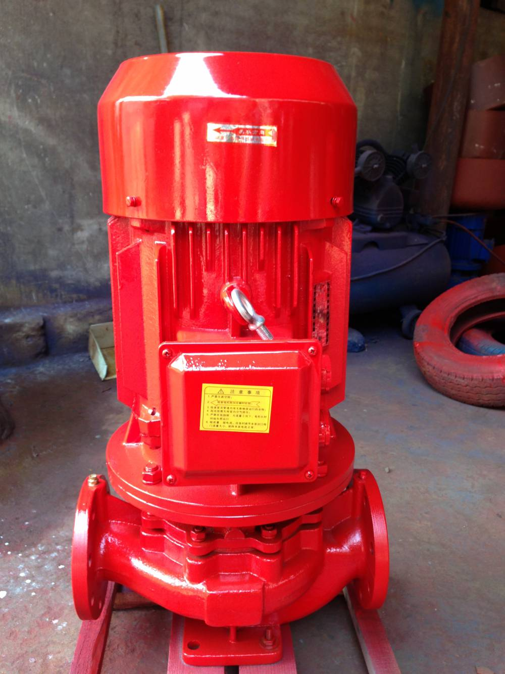 XBD立式管道消防泵組室內外消火栓自動噴淋泵增壓穩壓給水泵