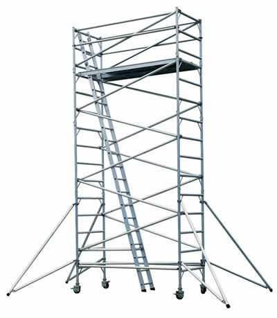搭脚手架搭建应满足施工的安全性