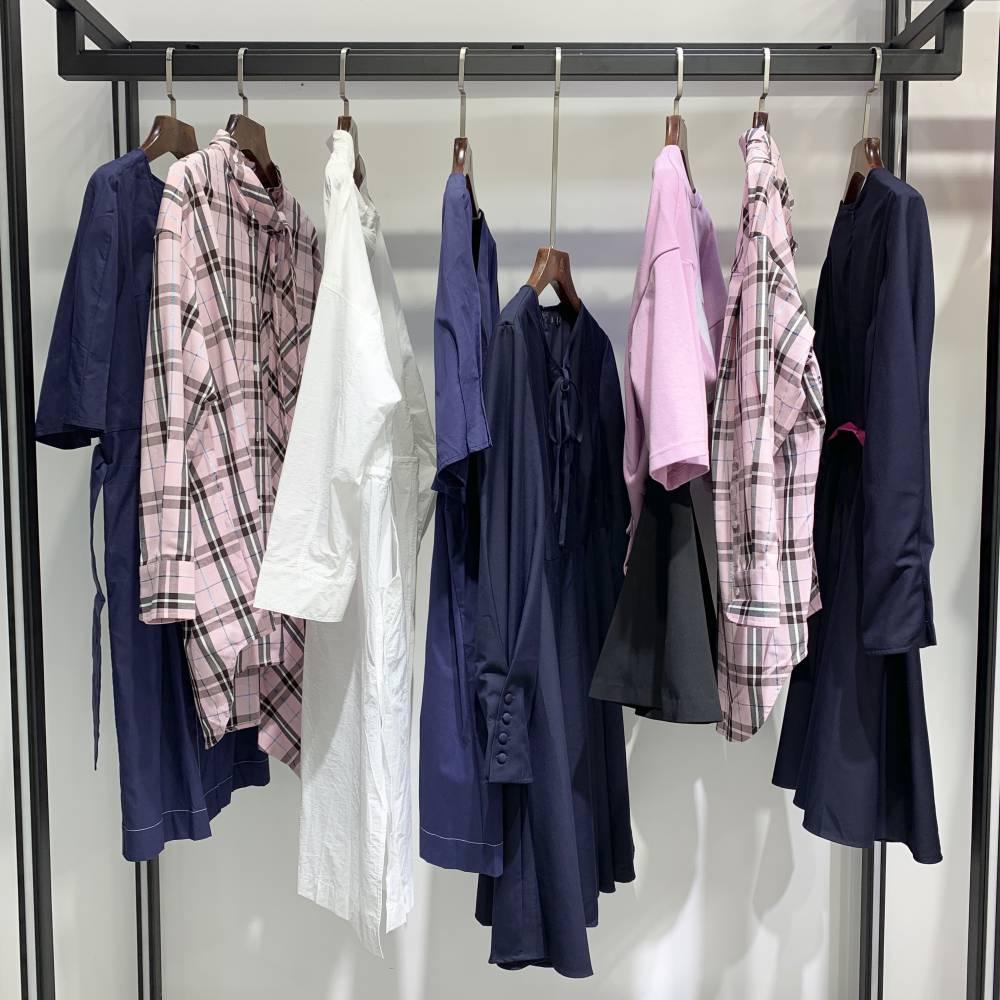艾蜜雪19春装 时尚潮款 品牌韩版女装 折扣批发 尾货走份