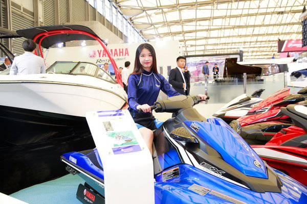 yamaha摩托艇