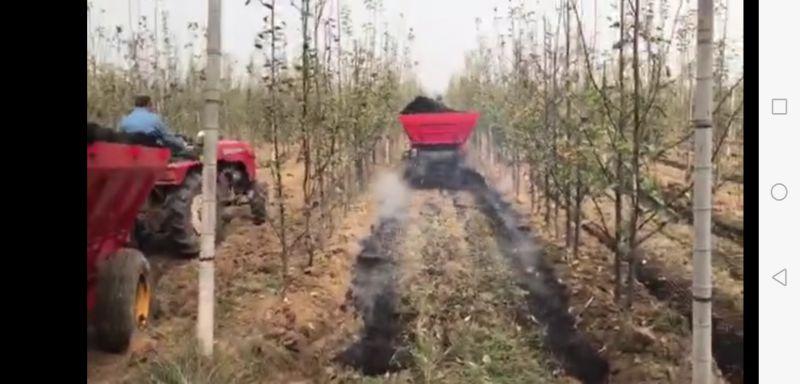 天盛果园双侧顺肥车 有机肥撒肥车