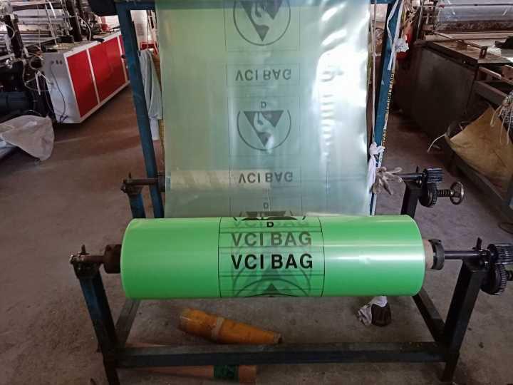 气相防锈袋现场制作流程
