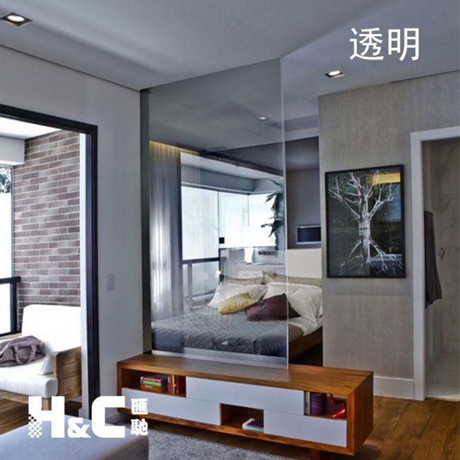 家用调光玻璃 汇驰智能雾化玻璃 PDLC超高透