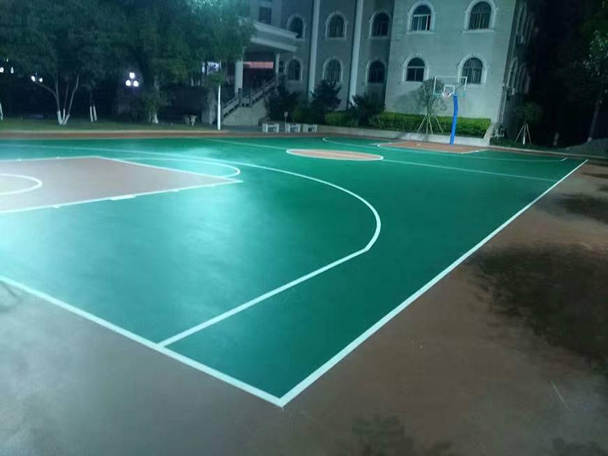 室外篮球场施工报价 室外篮球场施工施工方案