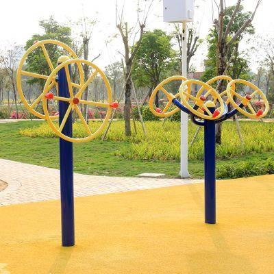 江西户外健身器材安装 小区广场老年人常用的体育器材设计