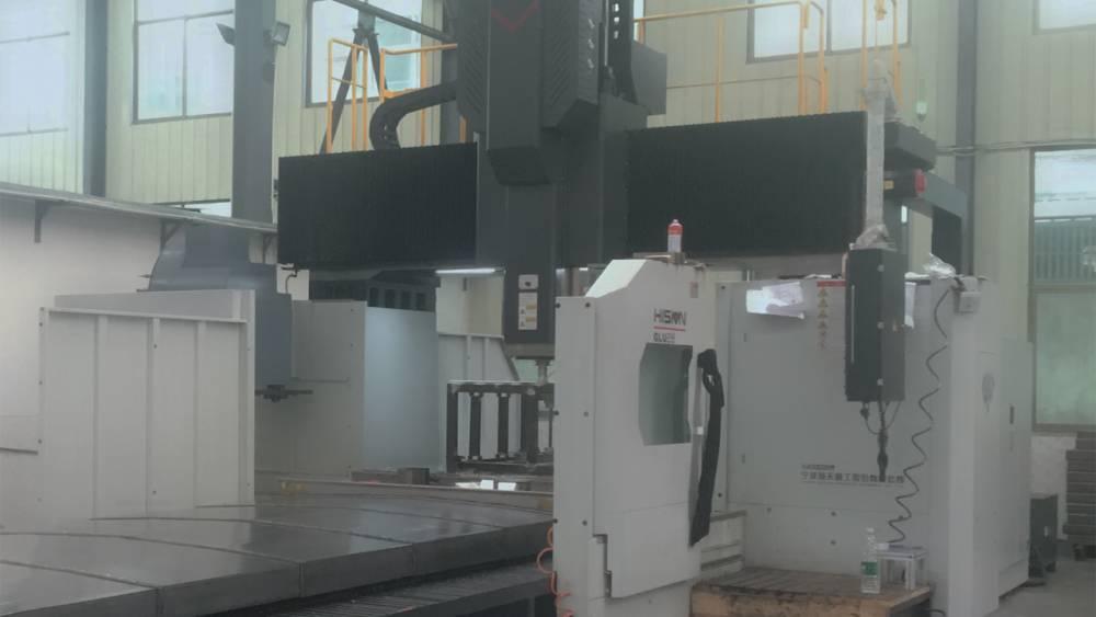 数控龙门五面加工中心,专业加工大型金属材料。