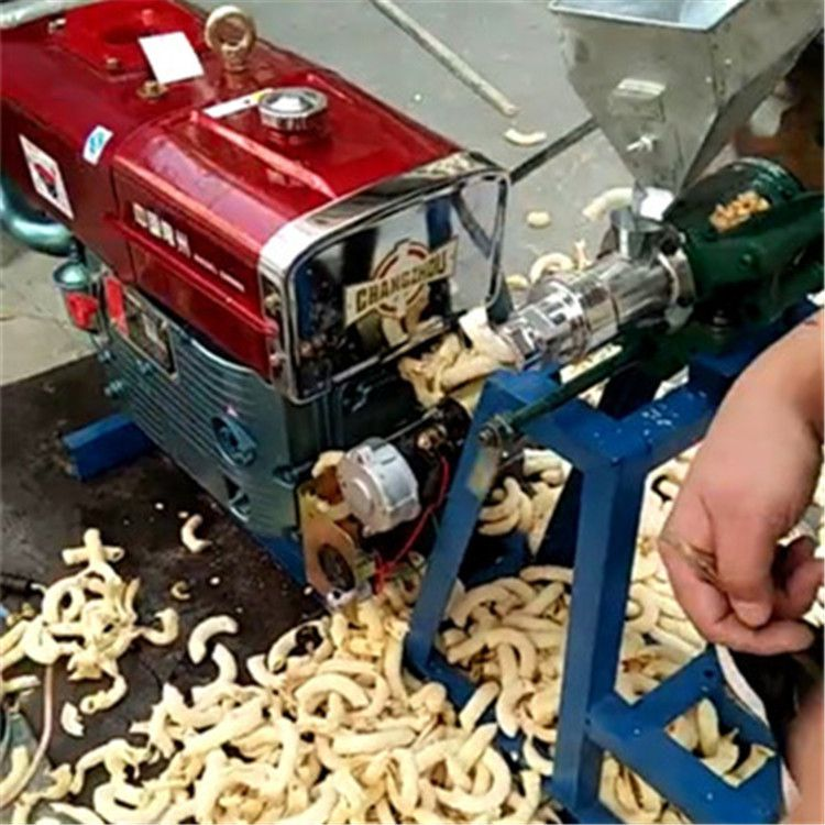 自动切断香酥果膨化机 十用型玉米膨化机 昊铭 江米棍机