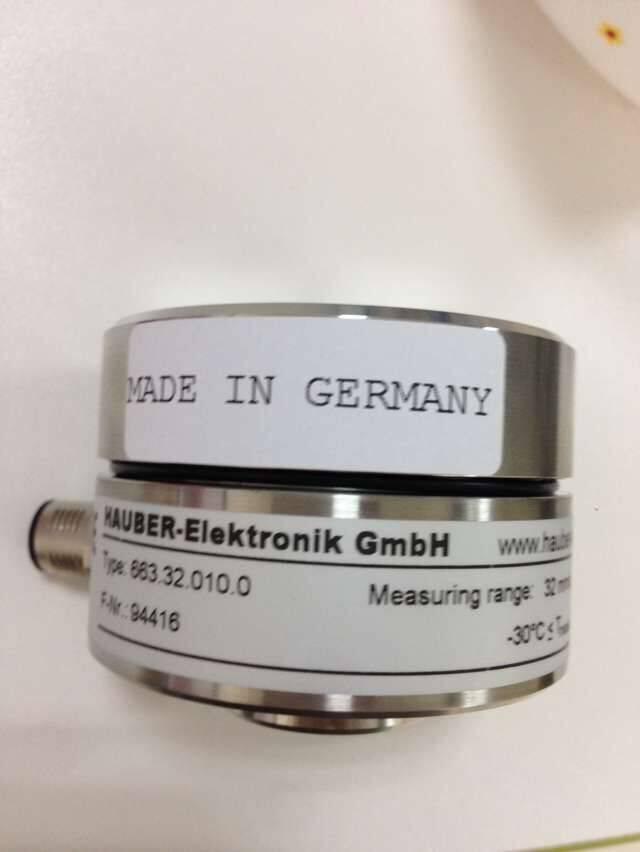 HAUBER振动传感器663.16.000.0