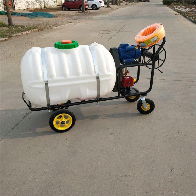 园林汽油高压打药机 7.5马力汽油农作物喷雾器